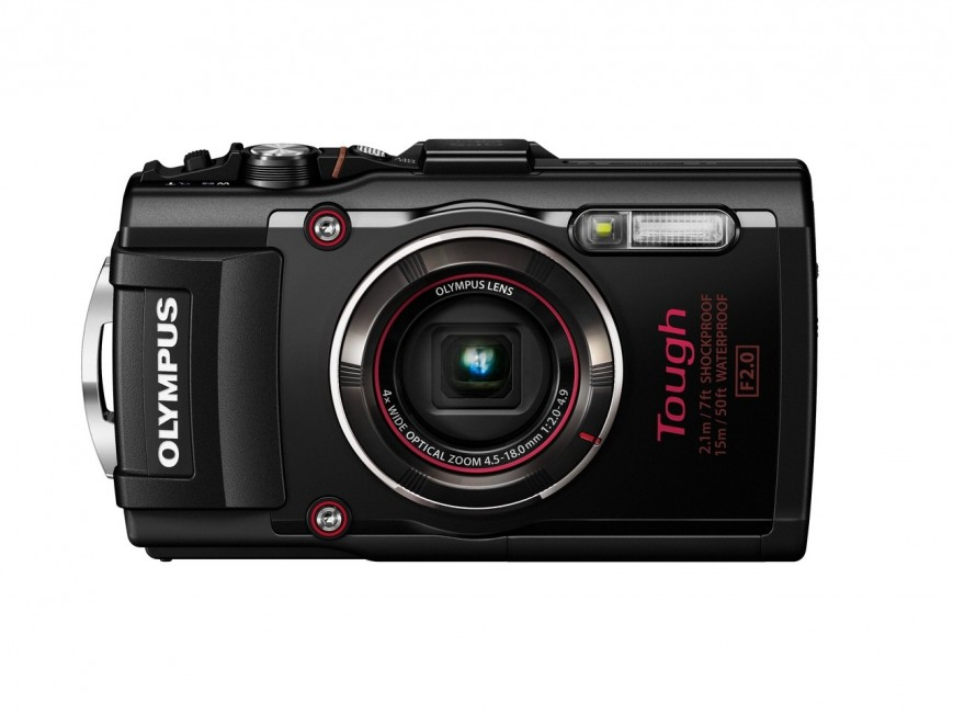Компания Olympus представила новую защищенную камеру Stylus Tough TG-4