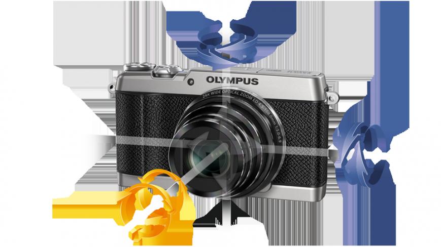 Компания Olympus представила компактную камеру Stylus Traveller SH-2
