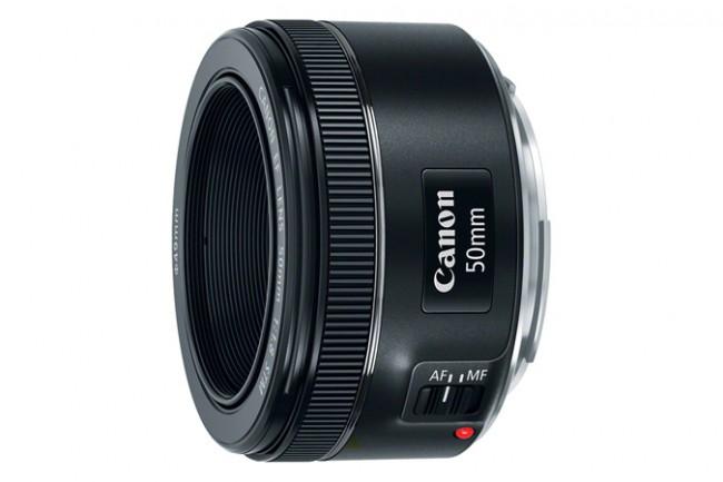 Компания Canon представила новый объектив EF 50mm f/1.8 STM
