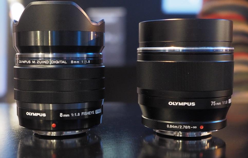 OLYMPUS добавила два профессиональных объектива стандарта Микро 4/3 в серию M.ZUIKO PRO