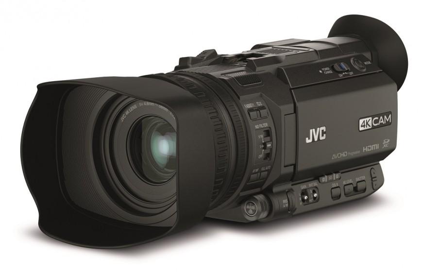 Компания JVC Kenwood продемонстрировала новую линейку камер 4KCAM