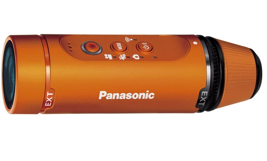 Компания Panasonic представляет ультракомпактную экшн-камеру HX-A1