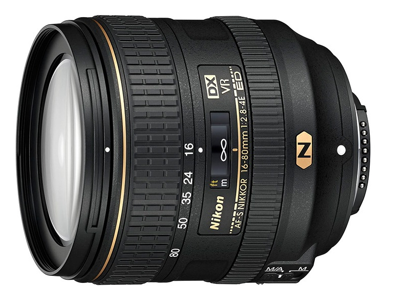 Компания Nikon сегодня представила зум-объектив Nikkor 16-80mm F2.8-4E ED VR формата DX