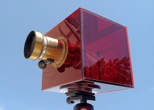 Прозрачная камера, которая работает