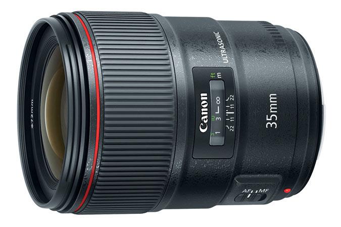 Компания Canon сегодня представила объектив EF 35mm f/1.4L II USM для камер системы EOS