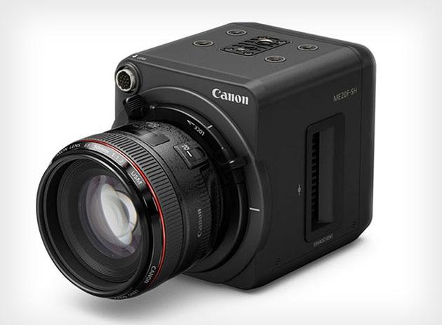 Компания  Canon показала камеру ME20F‑SH