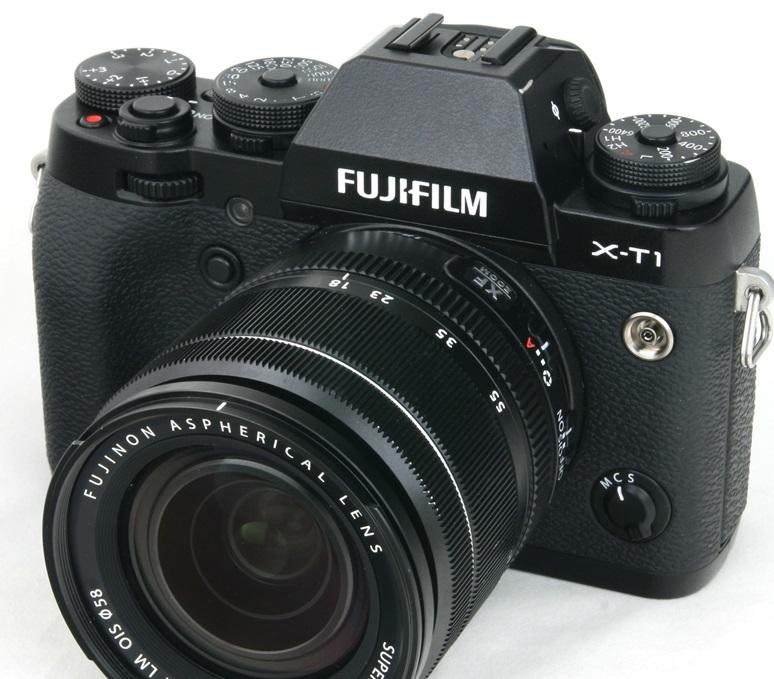 Fujifilm анонсировала беззеркальный фотоаппарат со сменной оптикой X-T1 IR