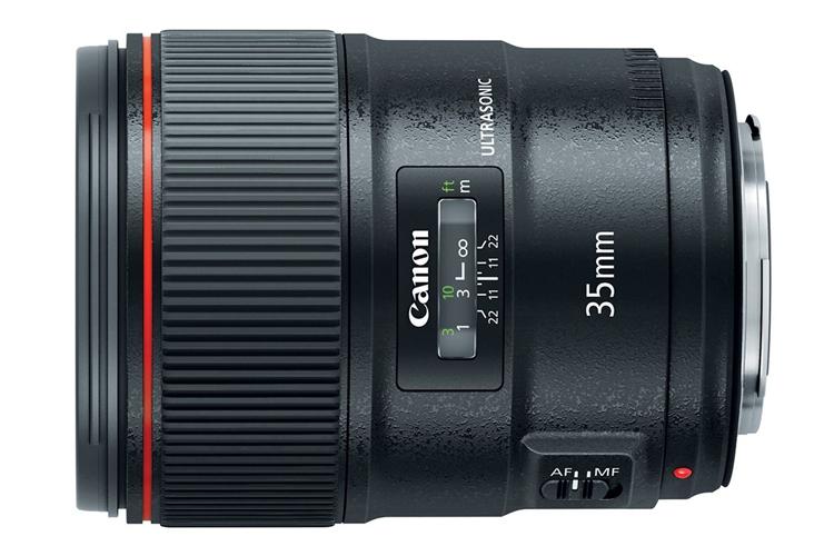 Canon анонсировала широкоугольный профессиональный объектив EF 35mm f/1.4L II USM с фиксированным фокусным расстоянием