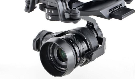 Производитель дронов DJI представил две новые камеры для своего флагманского беспилотника DJI Inspire 1