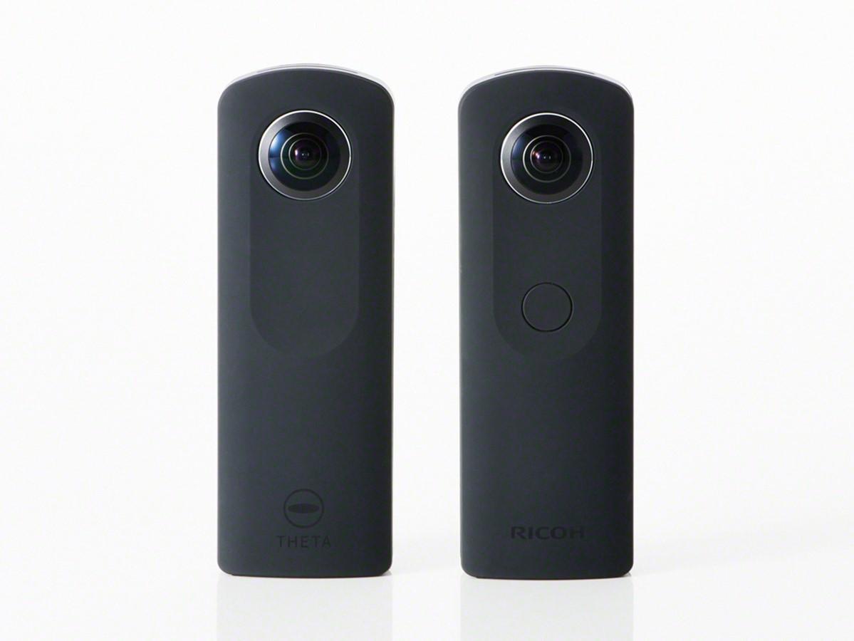 Ricoh анонсировала камеру Theta S, новинку в ряду 360-градусных камер компании