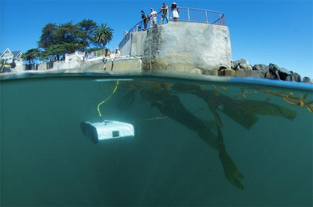 Компания OpenROV запустила на сайте Kickstarter кампанию по сбору средств для производства подводного дрона Trident