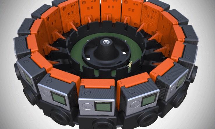 Стали известны сроки начала продаж и стоимость комплекта видеокамер для съёмки панорамного видео GoPro Odyssey
