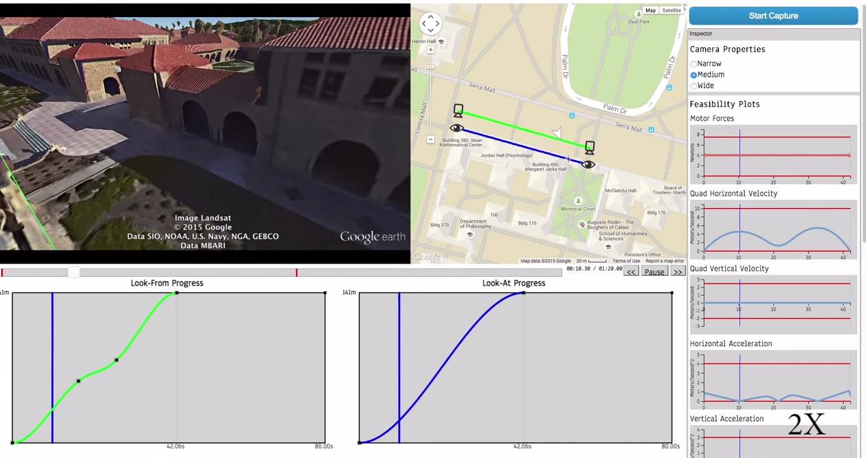 Horus- программа для планирования снимков в виртуальном пространстве