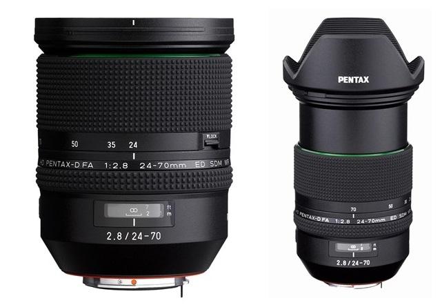 Kомпания Ricoh Imaging анонсировала выпуск нового универсального зум-объектива HD Pentax-D FA 24–70 мм f/2,8 ED SDM WR