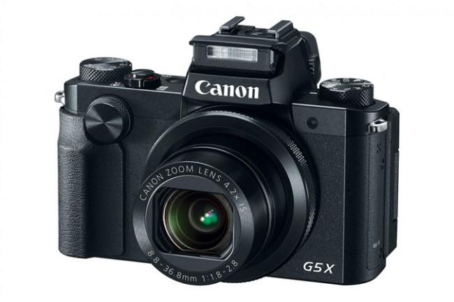 Компания Canon представила компактную камеру PowerShot G5 X