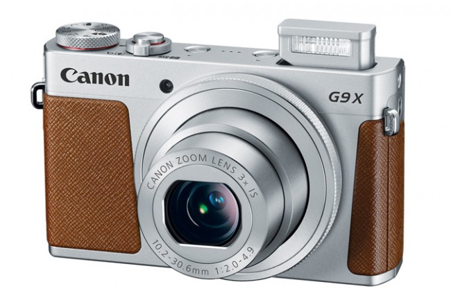 Компания Canon представила продвинутую компактную камеру PowerShot G9 X