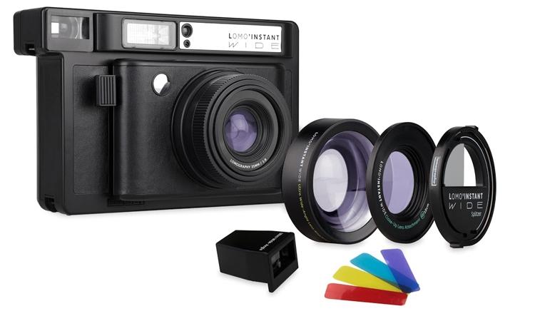 Компания Lomography представила фотоаппарат Lomo'Instant Wide