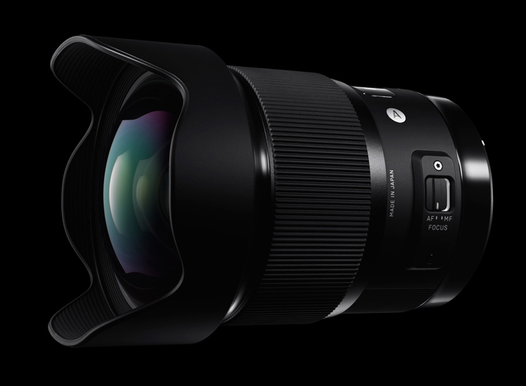 Компания Sigma сообщила о релизе объектива 20mm F1.4 DG HSM Art