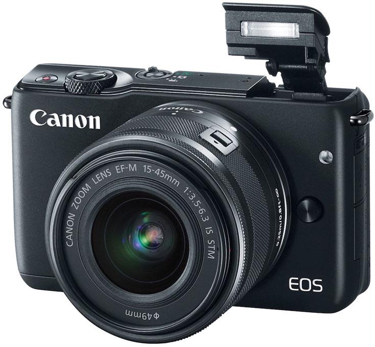 Canon представляет новую компактную системную камеру EOS M10