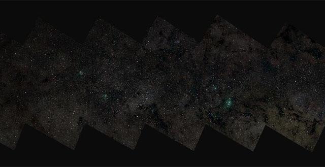 Немецкие астрономы показали самое большое астрономическое изображение – снимок Млечного Пути в разрешении 46 гигапикселей
