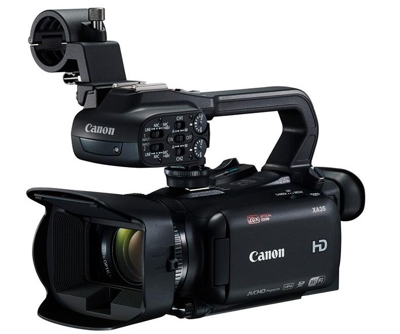 Компания Canon разработала новые Full HD-видеокамеры XA35 и XA30