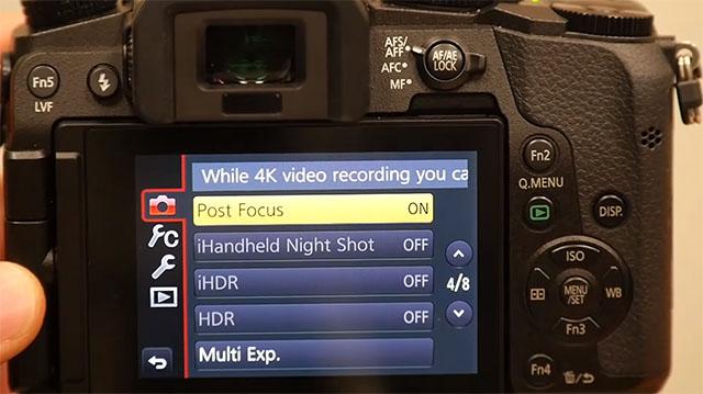 Panasonic разработала функцию «Post Focus», которая позволяет выбрать плоскость фокусировки не во время съемки