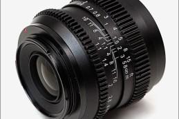 Компания SLR Magic анонсировала полнокадровый объектив CINE 50mm F1.1