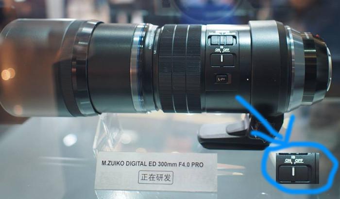 Компания Olympus Zuiko показала объектив 300mm f/4.0 IS PRO