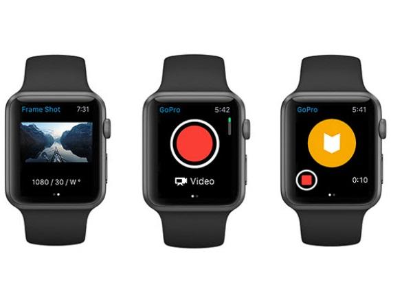 Приложение GoPro в App Store получило обновление, после которого камерами GoPro стало возможно управлять при помощи Apple Watch