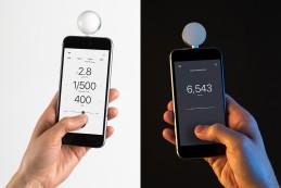 Датчик Lumu Power измеряет освещенность, вспышку и цветовую температуру