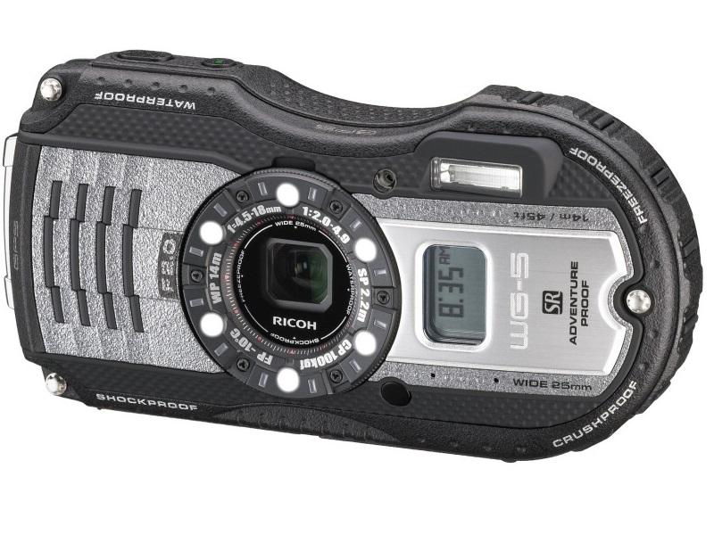 Компания Ricoh Imaging в марте предложит поклонникам активного образа жизни компактный фотоаппарат WG-5 GPS