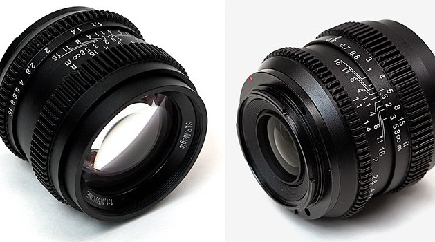Компания SLR Magic представила объектив SLR Magic Cine 50mm F1.1