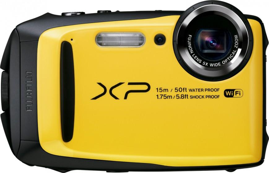 Компания Fujifilm представила не слишком дорогую камеру FinePix XP90
