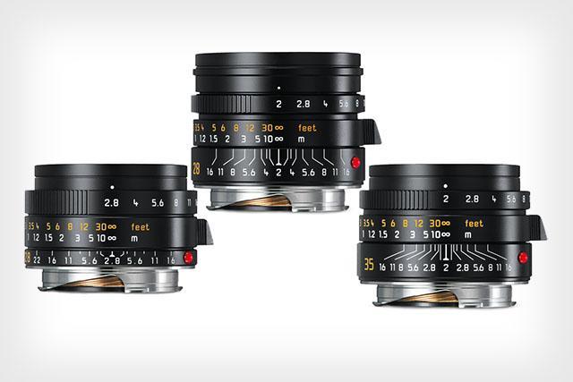 Leica анонсировала выход трех обновленных моделей в линейке классических полнокадровых объективов серии М