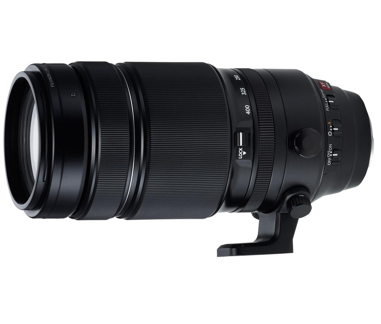 FUJIFILM анонсировала выпуск супер-телеобъектива FUJINON XF100-400mm F4.5-5.6 R LM OIS WR