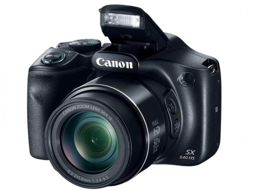 Canon представила пару новых камер-ультразумов — PowerShot SX540 HS и SX420 IS