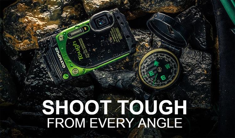 Компания Olympus представила всепогодную компактную фотокамеру Stylus Tough TG-870