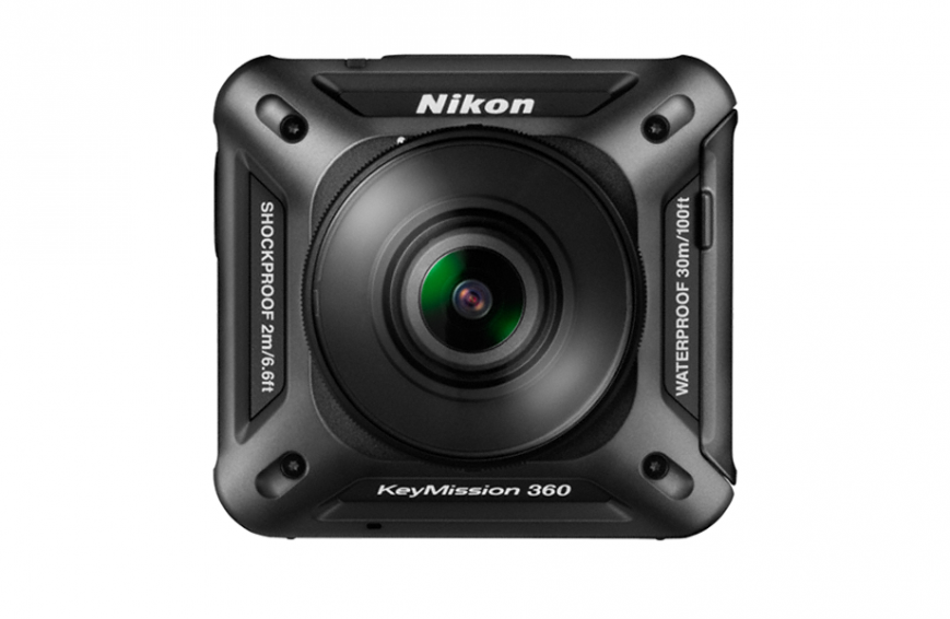 Компания Nikon представила свою первую экшн-камеру — KeyMission 360