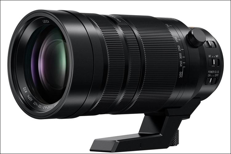 Компания Panasonic анонсировала телефотообъектив Leica DG Vario-Elmar 100–400mm F4.0–6.3 ASPH