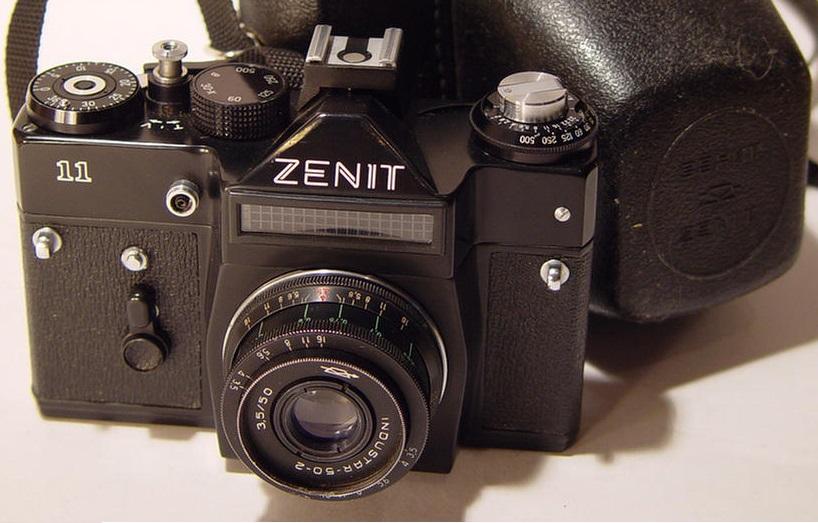 Госкорпорация «Ростех» собирается возродить легендарный бренд фотокамер «Зенит»