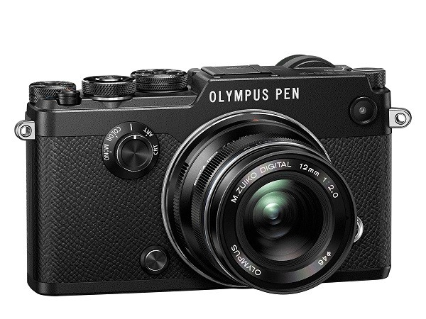 Olympus представила ретро-беззеркалку PEN-F