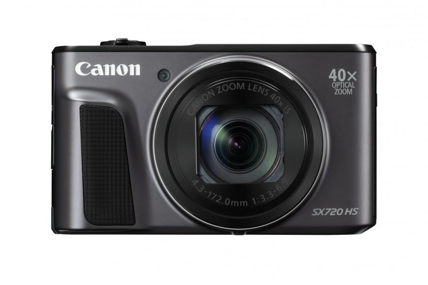Компания Canon представила тонкую камеру-ультразум — Powershot SX720 HS