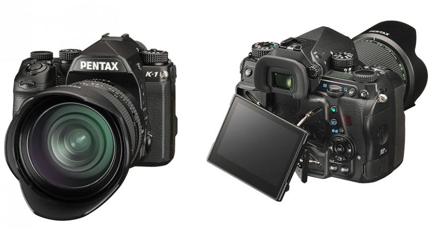Компания Ricoh Imaging, представила полнокадровую цифровую зеркальную камеру Pentax K-1