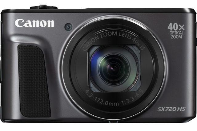 Canon анонсировала выход легкой ультразум-камеры PowerShot SX720 HS