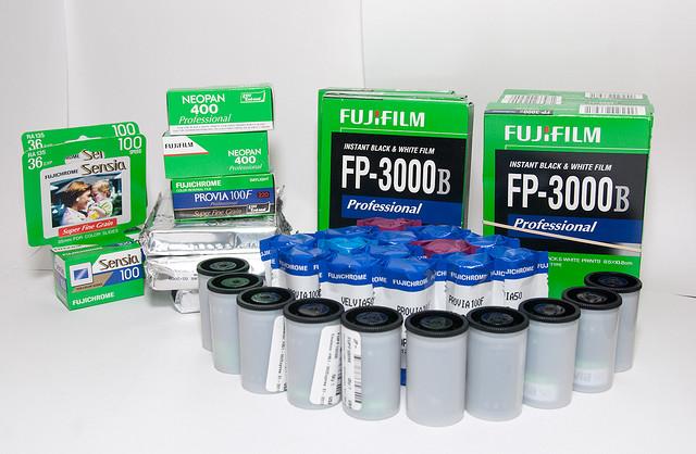 Fujifilm повышает цены на пленку во всем мире