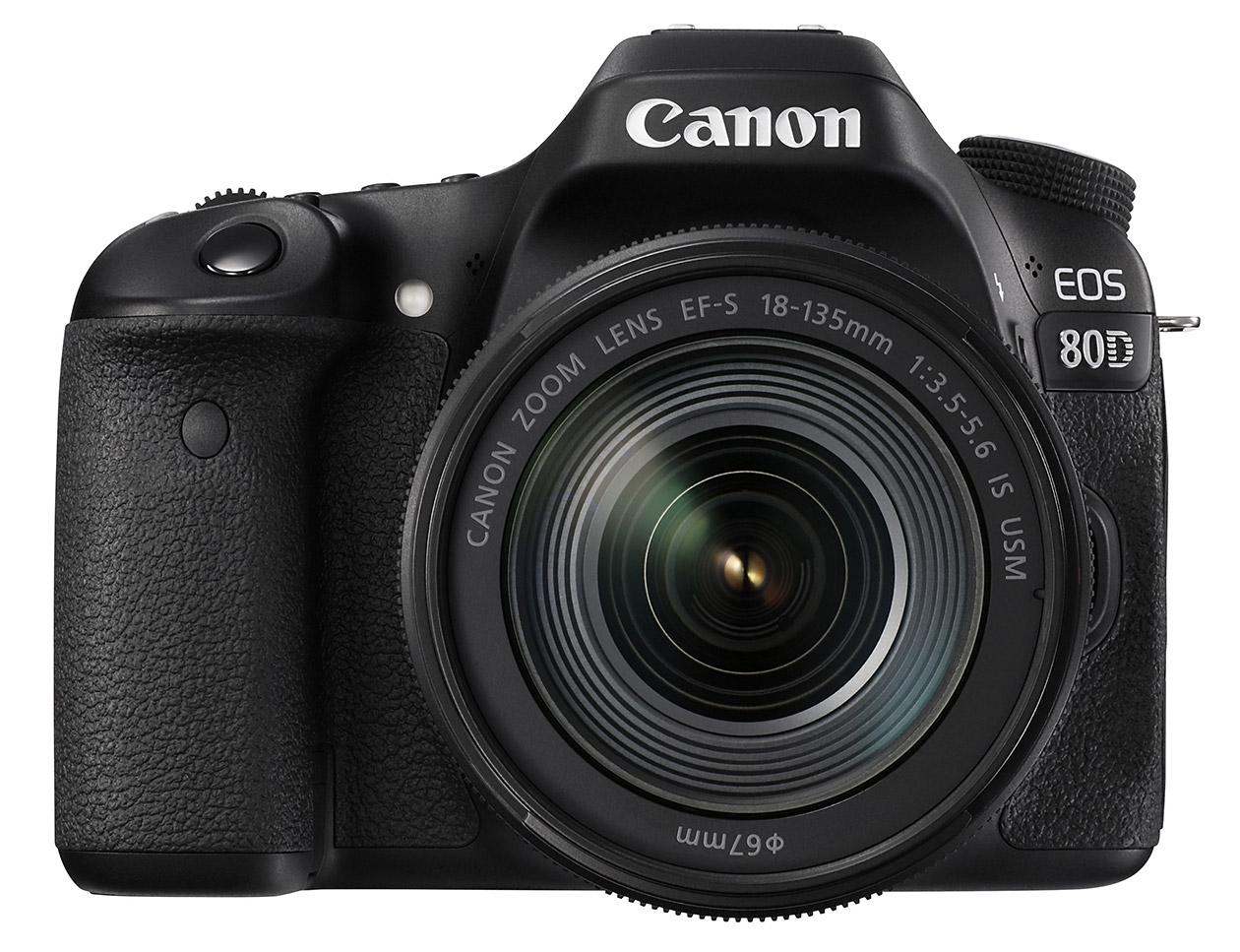 Компания Canon представила зеркальную камеру EOS 80D