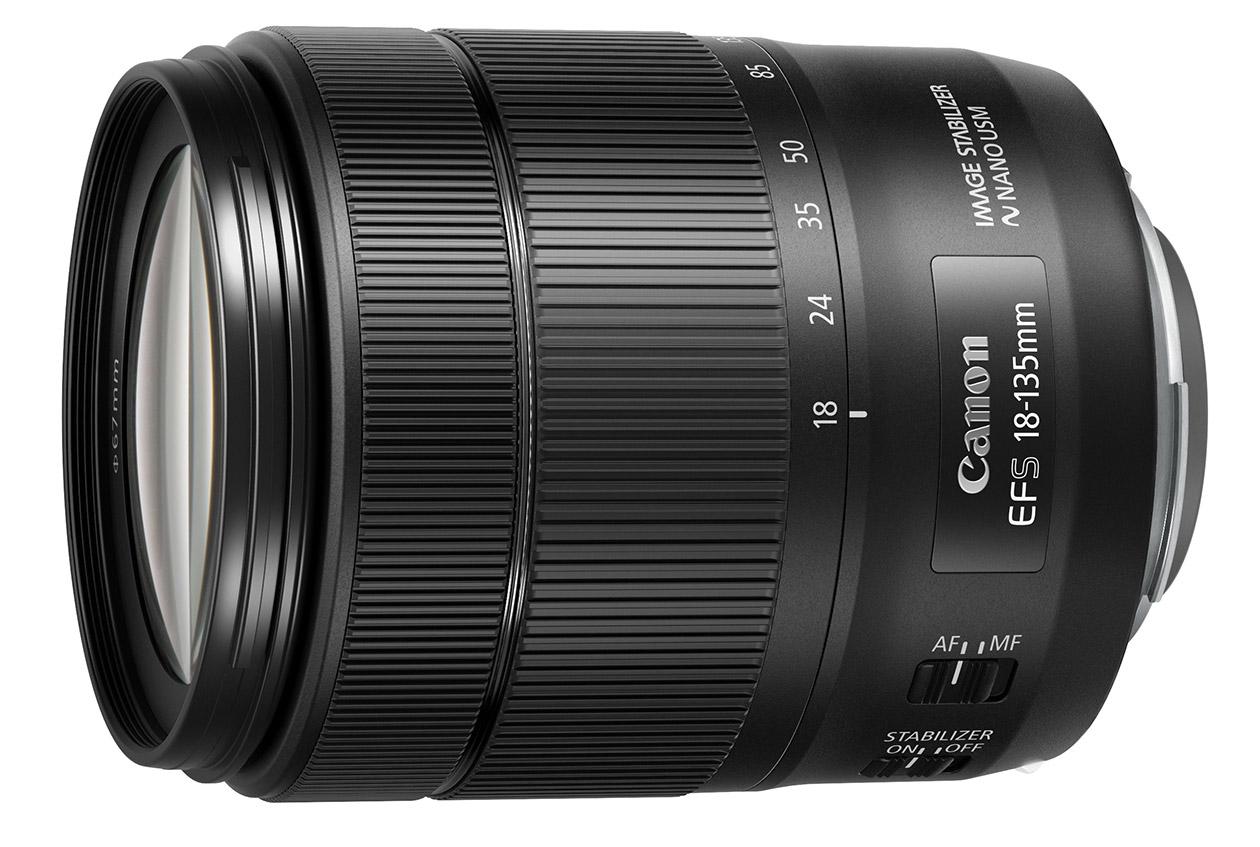 Объявлен выпуск универсального объектива EF S 18–135mm f/3.5–5.6 IS USM