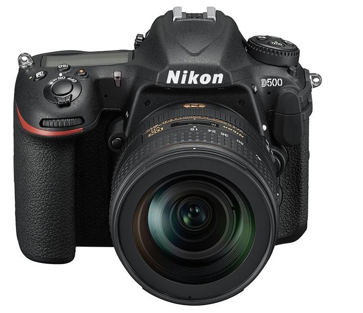 Nikon анонсировала выход зеркальной камеры D500