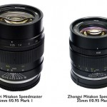 Китайская компания ZY Optics анонсировала Zhongyi Mitakon Speedmaster 35mm f/0.95 Mark II