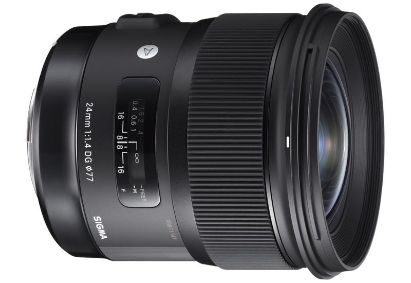 Компания Sigma анонсировала объектив 24mm F1.4 DG HSM Art